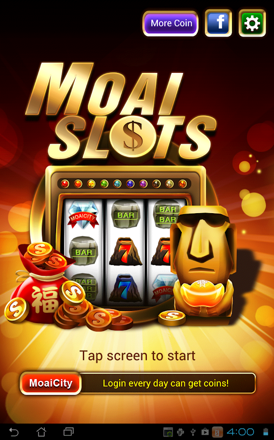 Moai Slots HD (for Table)- screenshot