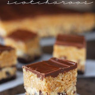 Chocolate Chip Cookie Dough Scotcharoos.
