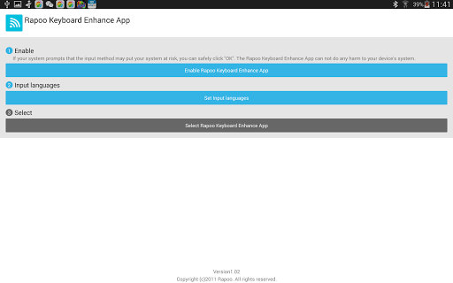 【免費生產應用App】Rapoo Keyboard Enhance App-APP點子