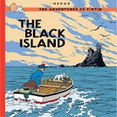 Comic Tintin the Black Island