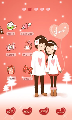 CUKI Theme Couple in Love