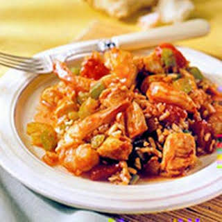Chicken and Shrimp Jambalaya.