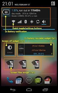2x Battery - Battery Saver - screenshot thumbnail