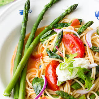 Asparagus Pasta Primavera.
