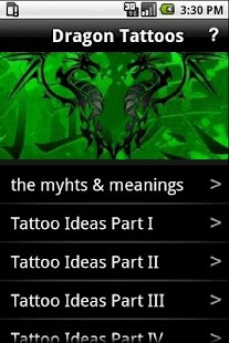 Dragon Tattoos - screenshot thumbnail