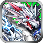 Dragon collection popular monster training card battle icon