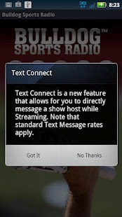 Bulldog Sports Radio - screenshot thumbnail