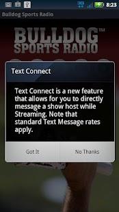 Bulldog Sports Radio - screenshot thumbnail