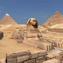 Pyramids 3D. Live wallpaper. icon