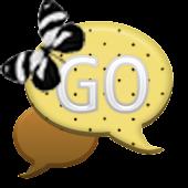 GO SMS - Polkadot Butterfly 3