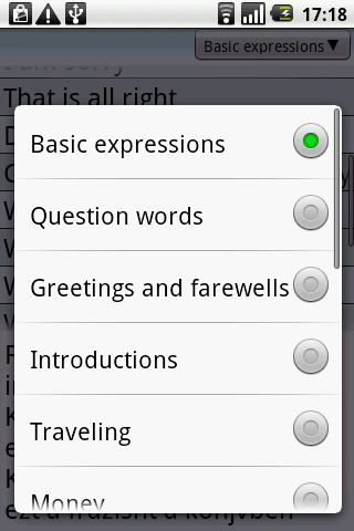 BKS English-Hungarian PhraseBk - screenshot