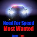 Need 4 Speed most wanted test icon