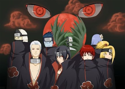 Akatsuki Eyes Live Wallpaper - screenshot thumbnail
