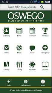 SUNY Oswego Mobile - screenshot thumbnail