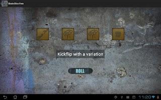 Screenshot of Skate Dice Free