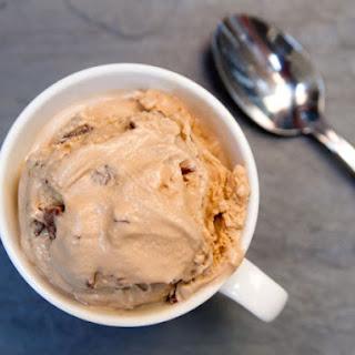 Malted Milk Toffee Crunch Ice Cream