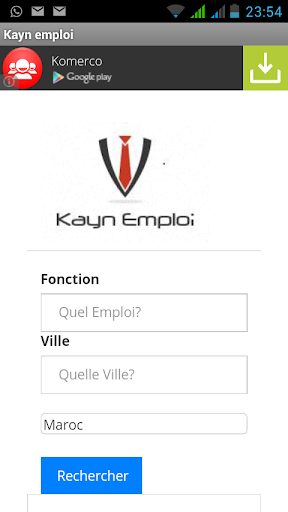 Kayn Emploi - محرك بحث عن عمل