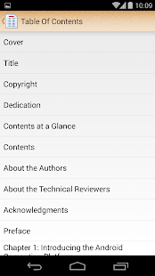 ePub Reader for Android: miniatura da captura de tela
