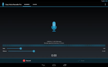 Easy Voice Recorder Pro Screenshot 1