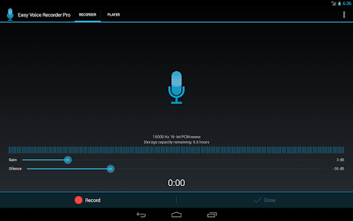 Easy Voice Recorder Pro - screenshot thumbnail