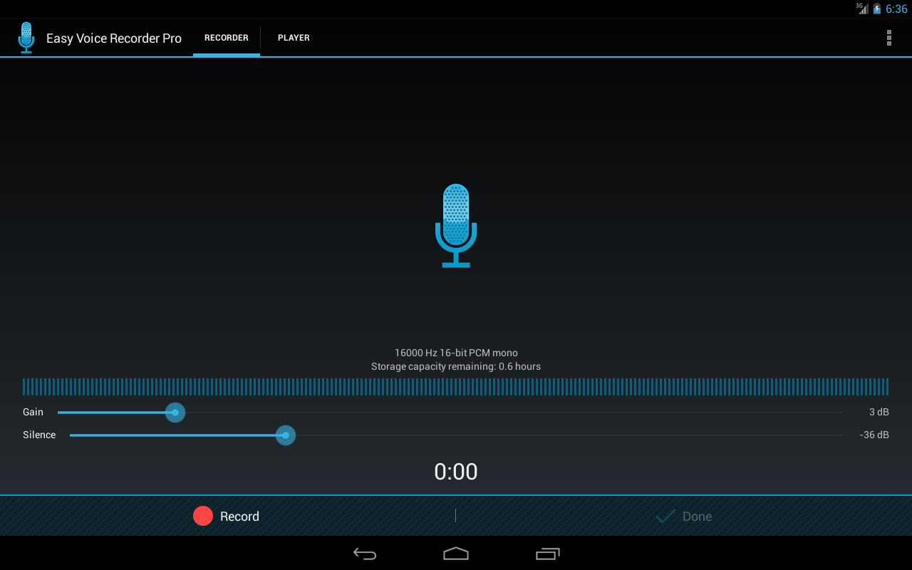 Easy Voice Recorder Pro - screenshot