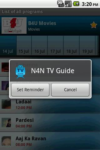 TV Guide India (N4N) - screenshot