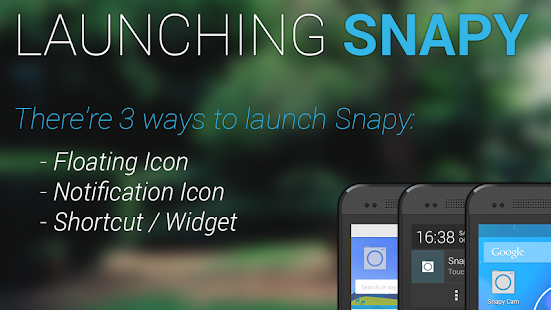 Snapy, The Floating Camera- screenshot thumbnail