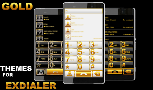 THEME BLACK GOLD FOR EXDIALER