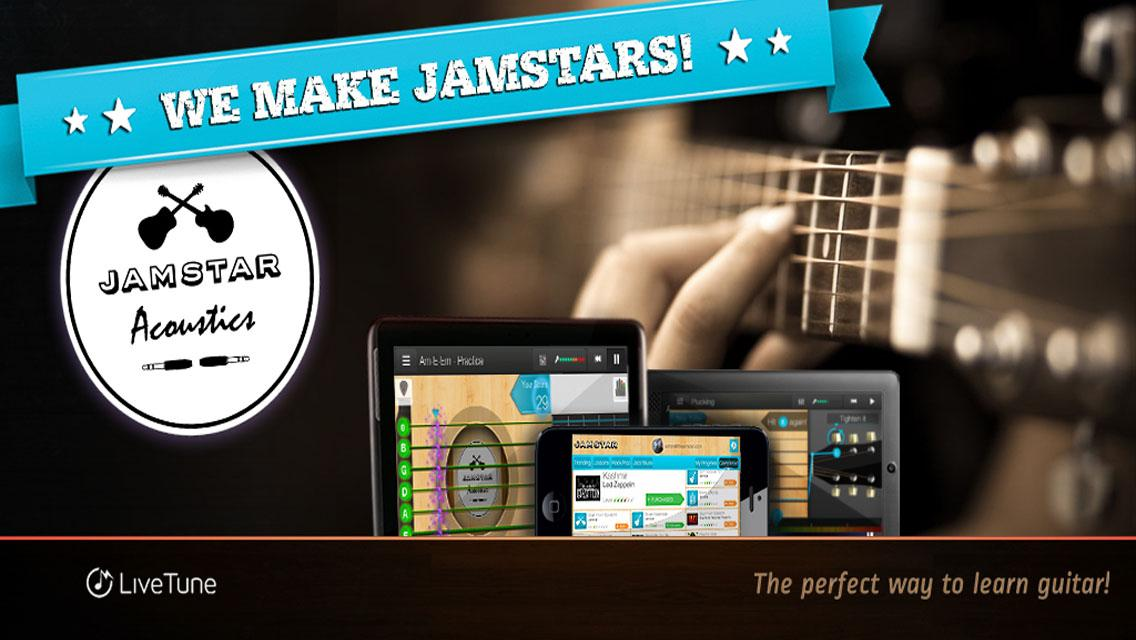 Jamstar Acoustics-Learn Guitar - screenshot