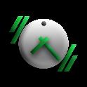 haptiClock logo