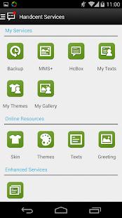 玩通訊App Handcent 6 Sense Style Skin免費 APP試玩
