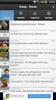 Screenshot of Sport Nieuws