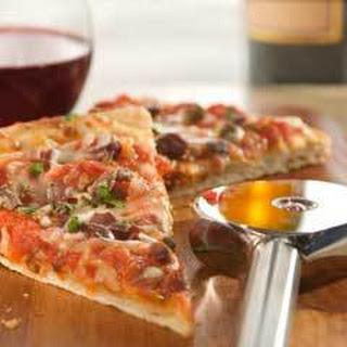 Pizza Puttanesca Arrabbiata.