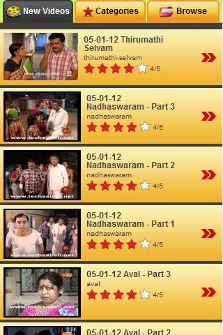 Tamil TV Shows & Serials - screenshot