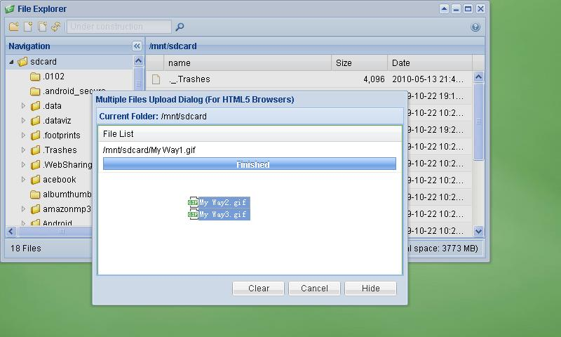Remote Web Desktop Full- screenshot