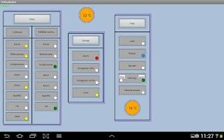 Screenshot of ISWvis Mobile Demo