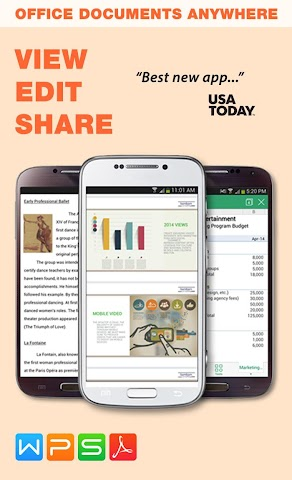 android WPS Office + PDF Screenshot 14