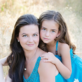 Mother and Daughter by Darci Jones - People Family ( perfection, gorgeous )