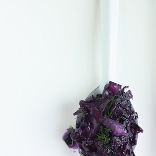 Sweet-and-Sour Cabbage.