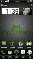 Screenshot of NateModz Green CM10 Theme