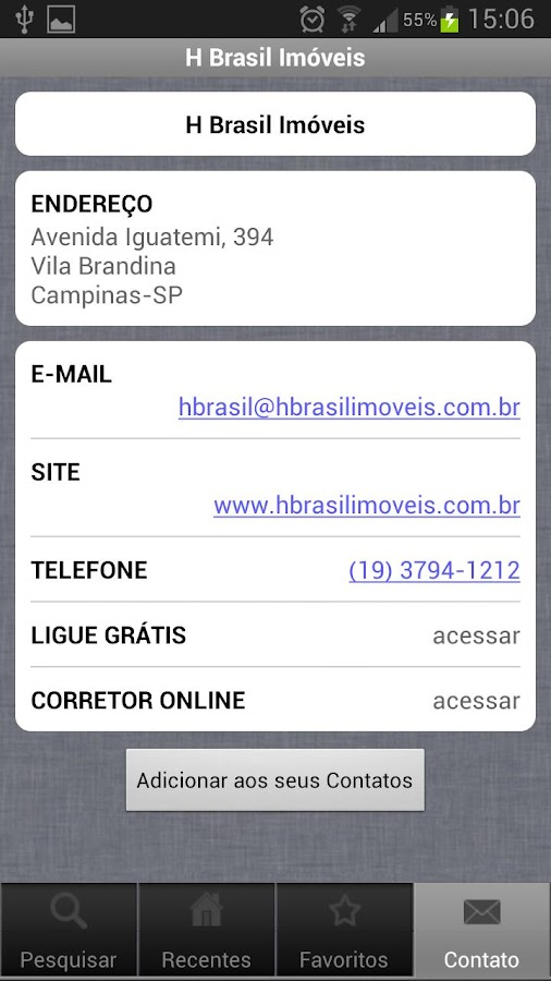 H Brasil Imóveis- screenshot