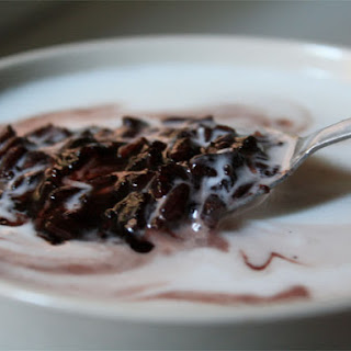 Pulut Hitam (Black Rice Pudding with Coconut Milk)