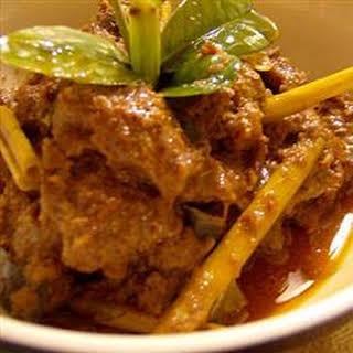 Indonesian Beef Rendang.