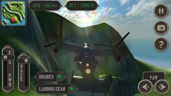 V22 Osprey Flight Simulator - screenshot thumbnail