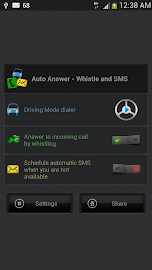Auto Answer - Whistle & SMS Screenshot 2