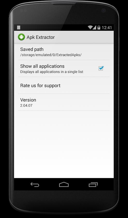 APK Extractor - screenshot