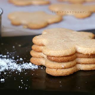 """Almond Flour Cut Out """"Sugar""""Cookies (Diary/Egg/Grain Free, Paleo)."""