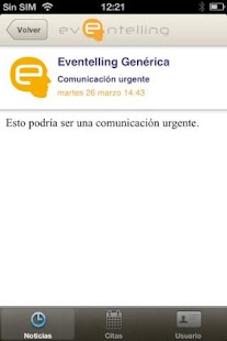 Eventelling - screenshot thumbnail