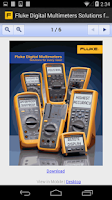 Screenshot of Fluke Virtual Sales Assistant