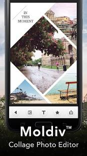Moldiv - Collage Photo Editor - screenshot thumbnail
